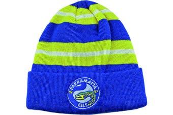 Parramatta Eels NRL Wozza Embroidered Beanie Hat