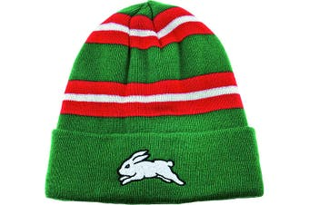 South Sydney Rabbitohs NRL Wozza Embroidered Beanie Hat