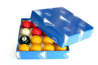 MITCHELL Super Casino Pool Snooker Billiard Balls Red Yellow Black White