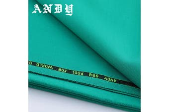 ANDY 988 Pool Snooker Billiard 9 Ball Table Tournament Green Cloth Felt kit 9ft