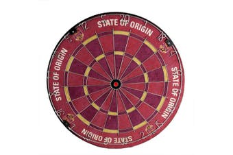 2020 State of Origin QLD Queensland Maroons Dart Board