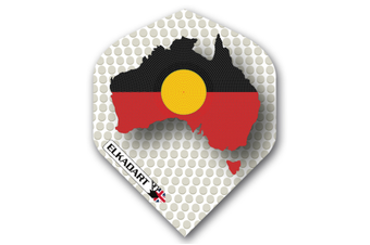 ELKADART Dart Flights Set of 3 Indigenous Flag
