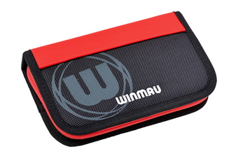 Winmau URBAN PRO Dart Board Darts Case Wallet Storage Red