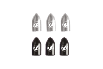 Winmau Wizlock Dart board Darts Shaft Caps Silver