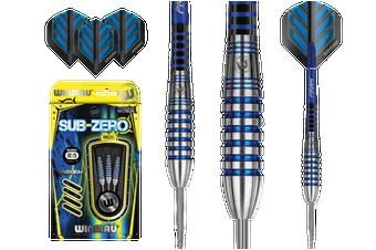 WINMAU Sub-Zero Torpedo Steel Tip 80% Tungsten Darts 24 Gram