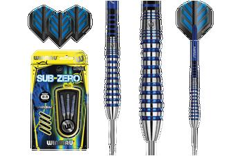 WINMAU Sub-Zero Specialist Steel Tip 80% Tungsten Darts 23 Gram