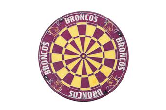 Brisbane Broncos NRL Bristle Dart Board