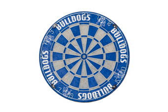 Canterbury Bulldogs NRL Bristle Dart Board