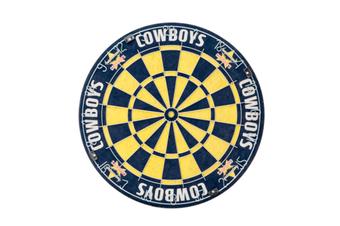 North QLD Queensland Cowboys NRL Bristle Dart Board