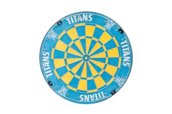 Gold Coast Titans NRL Bristle Dart Board