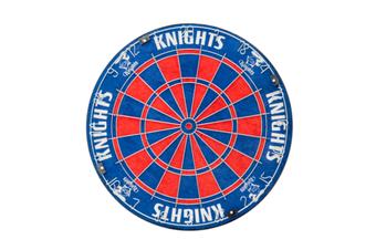 Newcastle Knights NRL Bristle Dart Board