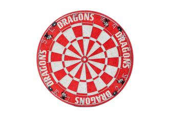 St George Illawarra Dragons NRL Bristle Dart Board
