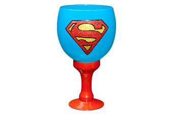 SUPERMAN Giant Decorative Drinking Glass