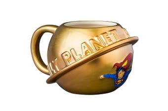 SUPERMAN Moulded Coffee Hot Chocolate Mug Cup