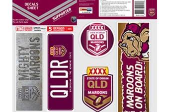 State of Origin QLD Queensland Car Bumper Sticker DECALS Stickers