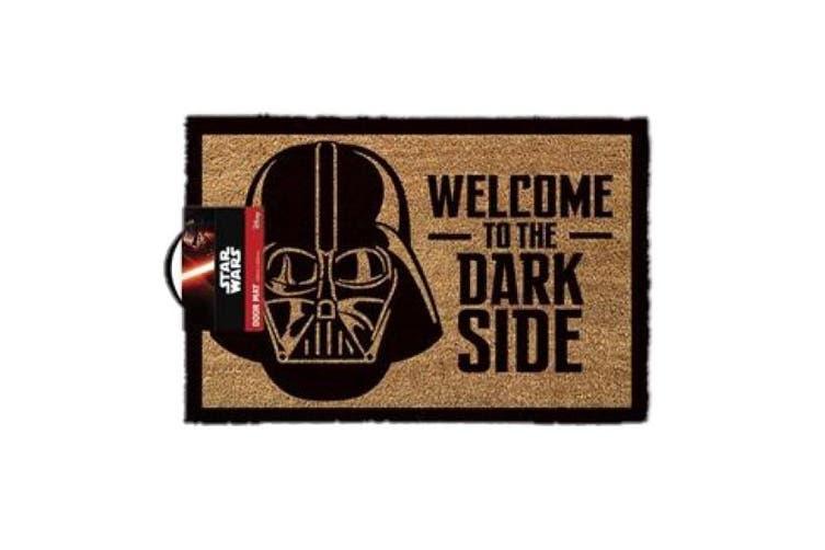 Star Wars Darth Vader Welcome To The Dark Side Door Mat