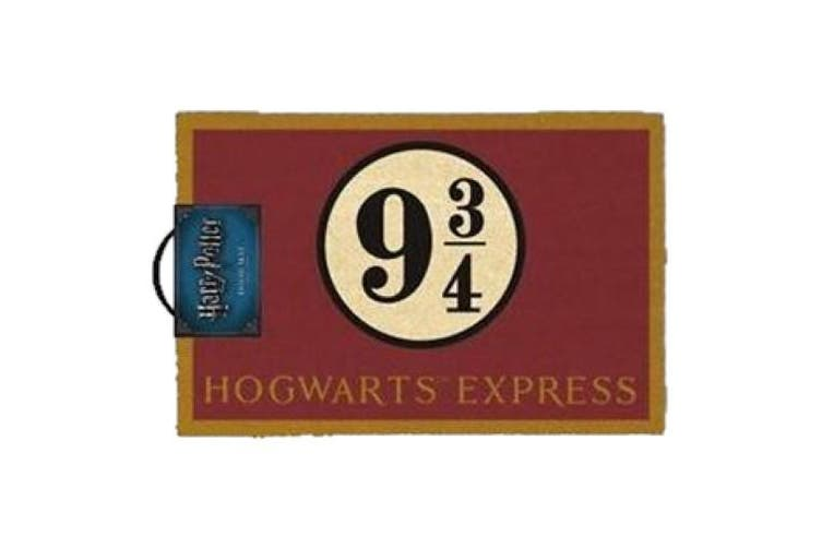 Harry Potter Platform 9 and 3/4 Man Cave Door Mat