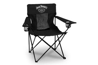 Jack Daniels Sport Racing Outdoor Camping Chair with Carry Bag