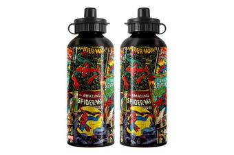 Spiderman Marvel Aluminium Drink Bottle 500ml