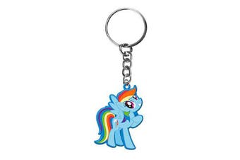 My Little Pony RAINBOW DASH Moulded PVC Keyring Key Ring