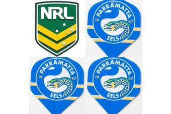 NRL Dart Board Dart Flights - Eels
