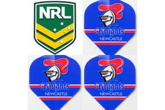 NRL Dart Board Dart Flights - Knights