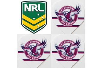 NRL Dart Board Dart Flights - Sea Eagles