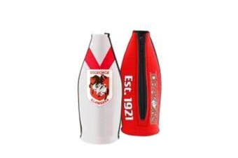 St George Illawarra Dragons TALLIE LONG NECK Beer Wine Bottle Zip Cooler (includes Carry Strap)