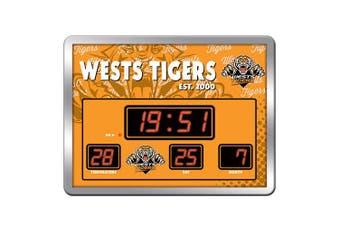 Wests Tigers NRL SCOREBOARD LED clock