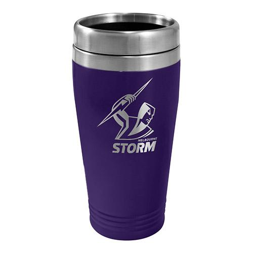 Melbourne Storm NRL Stainless Steel Travel Coffee Mug Cup Birthday Gift