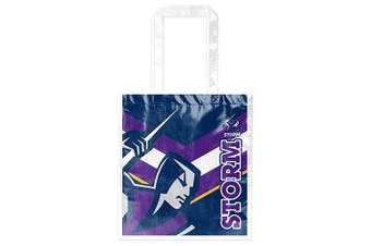 Melbourne Storm NRL Laminated Carry Shopping Grocery Bag