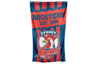 Sydney Roosters NRL Cape Wall Flag Banner
