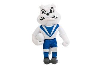 Canterbury Bulldogs NRL Plush MASCOT Teddy Bear Sublimated Embroidered