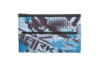 NRL Cronulla Sharks QUALITY LARGE Pencil Case for School Work Stationary