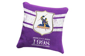Melbourne Storm NRL HERITAGE Cushion fabric Pillow