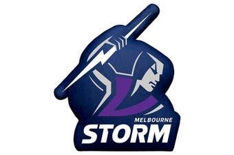 Melbourne Storm NRL Logo Shape Cushion Pillow