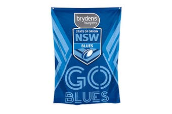 2020 State of Origin NSW Blues Wall Cape Flag Banner