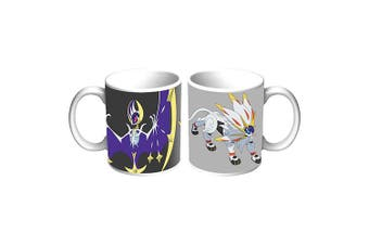 POKEMON GO Sun and Moon Legendary Coffee Tea Hot Chocolate Mug Cup