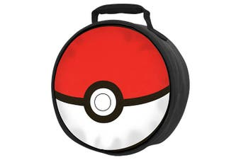 Pokemon Poke Ball Insulated Lunch Cooler Bag