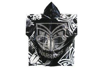 New Zealand NZ Warriors NRL Adult Poncho Rain Coat Jacket