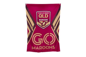 2020 State of Origin QLD Queensland Maroons Cape Wall FLAG