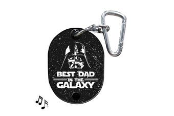 Star Wars Best Dad in the Galaxy Musical Keyring Key Ring Makes Darth Vader Breathing Sounds