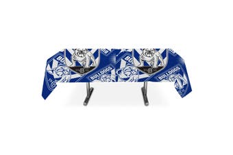 Canterbury Bulldogs NRL Team Party Printed Table Cloth
