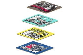 TRANSFORMERS movie design Set of 4 Cork Back Coasters
