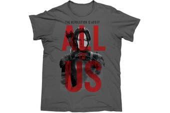 The Hunger Games MOCKINGJAY Mens T Shirt - X large