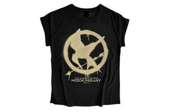 The Hunger Games MOCKINGJAY Ladies Womens Girls T Shirt - Large