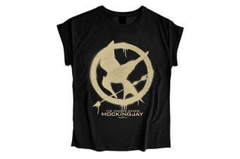 The Hunger Games MOCKINGJAY Ladies Womens Girls T Shirt - X large