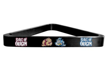 NRL Rugby League NSW V's QLD State of Origin Pool Snooker Billiard Balls TRIANGLE