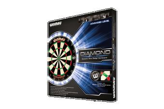 WINMAU Diamond Plus Dart Board Dartboard