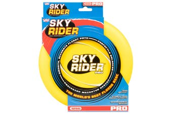 Wicked Sky Rider Pro Frisbee Flying Disc Beach Toy Fun Game YELLOW